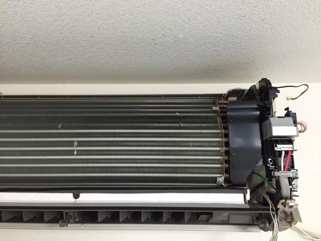 熱交換器 洗浄後